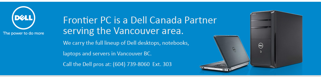 Dell at FrontierPC vancouver